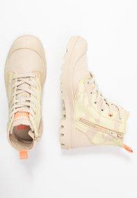 Palladium - PAMPA ZIP NEVADA - Boots à talons - yellow - 3