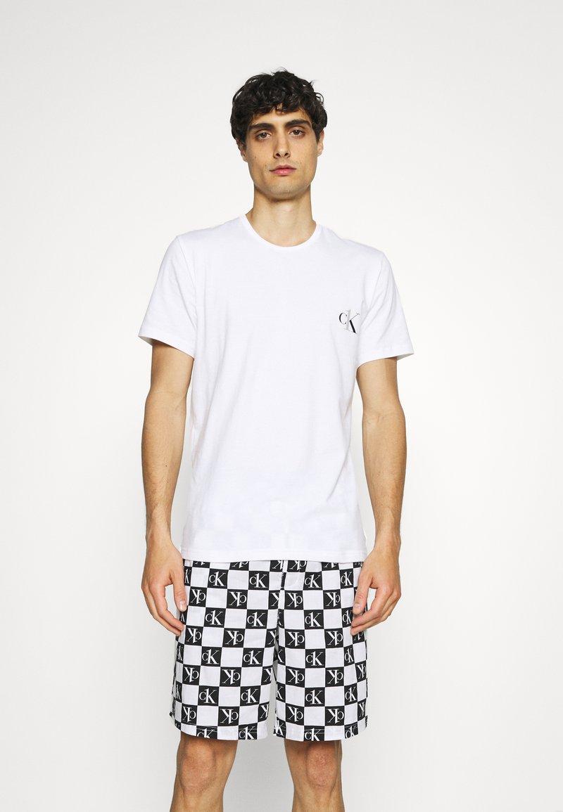 Calvin Klein Underwear - SHORT - Pyžamo - black