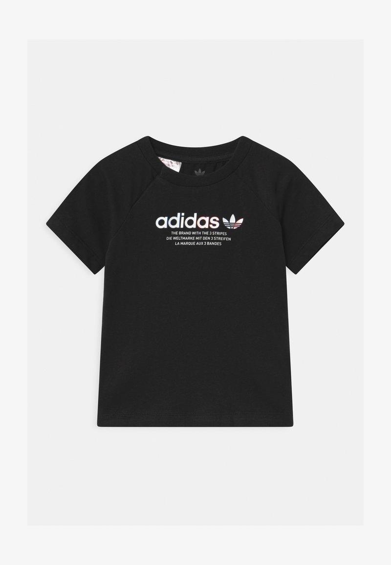adidas Originals - TEE UNISEX - Print T-shirt - black