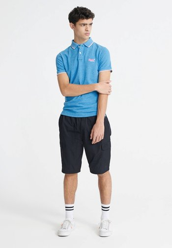 POOLSIDE - Poloshirt - electric blue grit