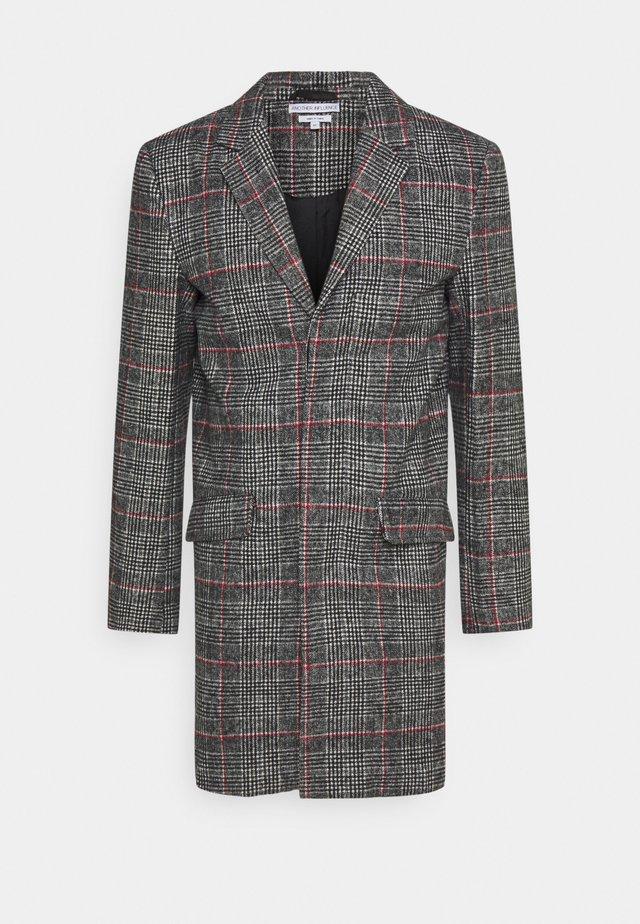 EVERETT CHECK OVERCOAT - Cappotto corto - grey