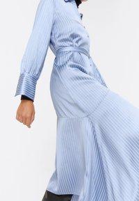 Uterqüe - Shirt dress - blue - 4