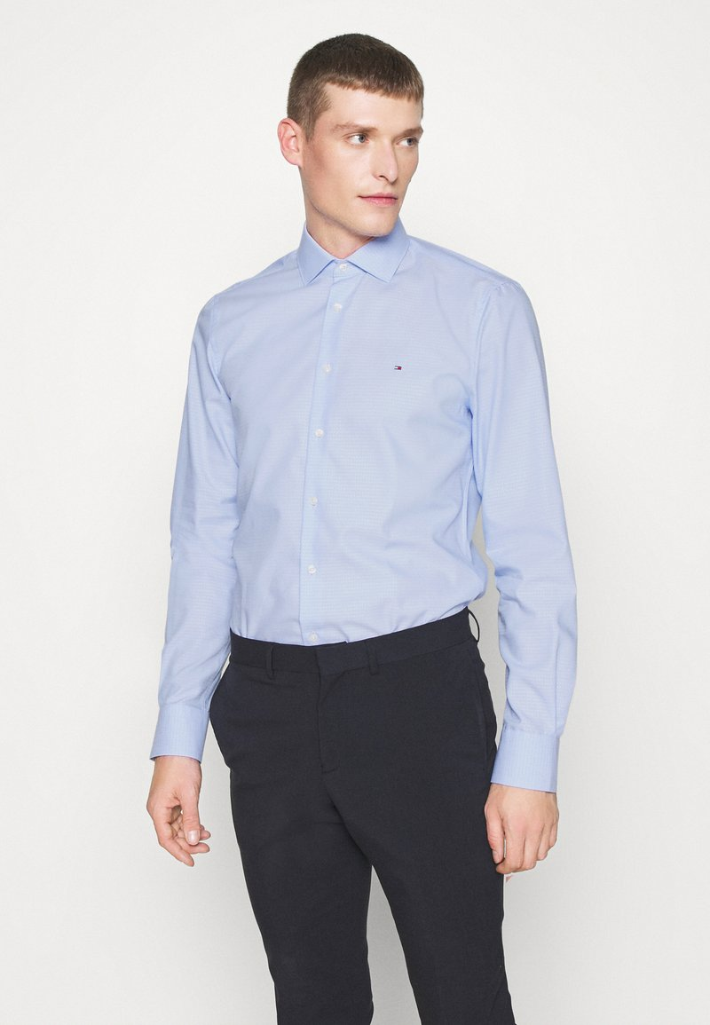 Tommy Hilfiger Tailored - DOBBY DESIGN CLASSIC - Formal shirt - blue