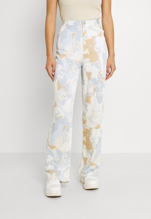 ANGELICA TROUSERS - Bukser - ice blue