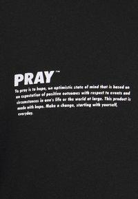 PRAY - HOPE HOODIE UNISEX  - Sweatshirt - black - 2