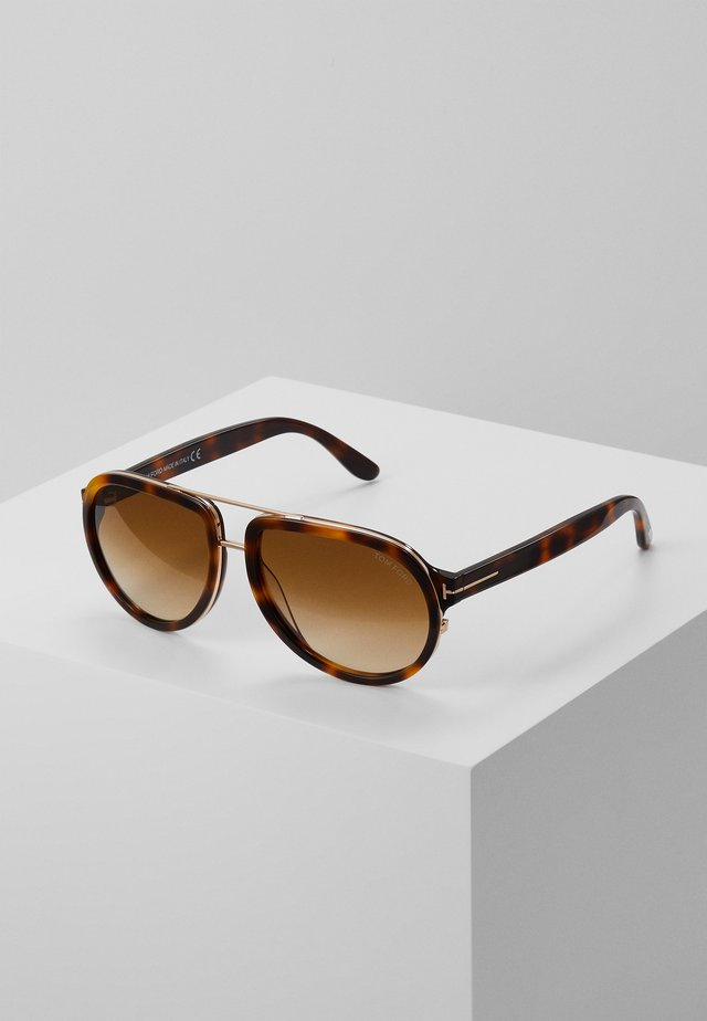 Sonnenbrille - havana/gradient brown