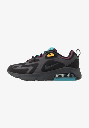 AIR MAX 200 - Sneakersy niskie - black/anthracite/bordeaux/university gold/teal
