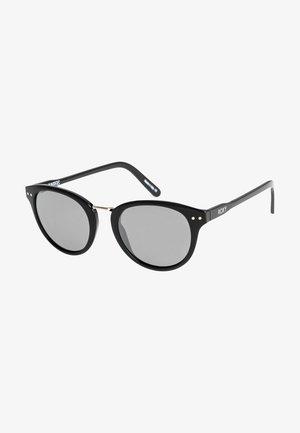 JUNIPERS  - Sonnenbrille - shiny black/flash silver