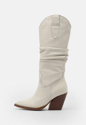 Cowboystøvler - off white