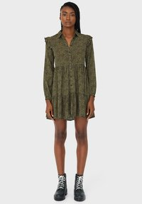 Stradivarius - Day dress - dark green