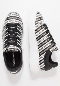 Emporio Armani - Zapatillas - black/white - 1