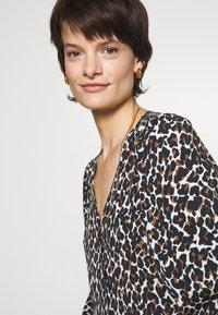 Rebecca Minkoff - CHELSEA DRESS - Maxi dress - ecru/multicolor - 5