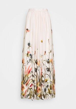 Maxi sukně - sandshell/mulicolor