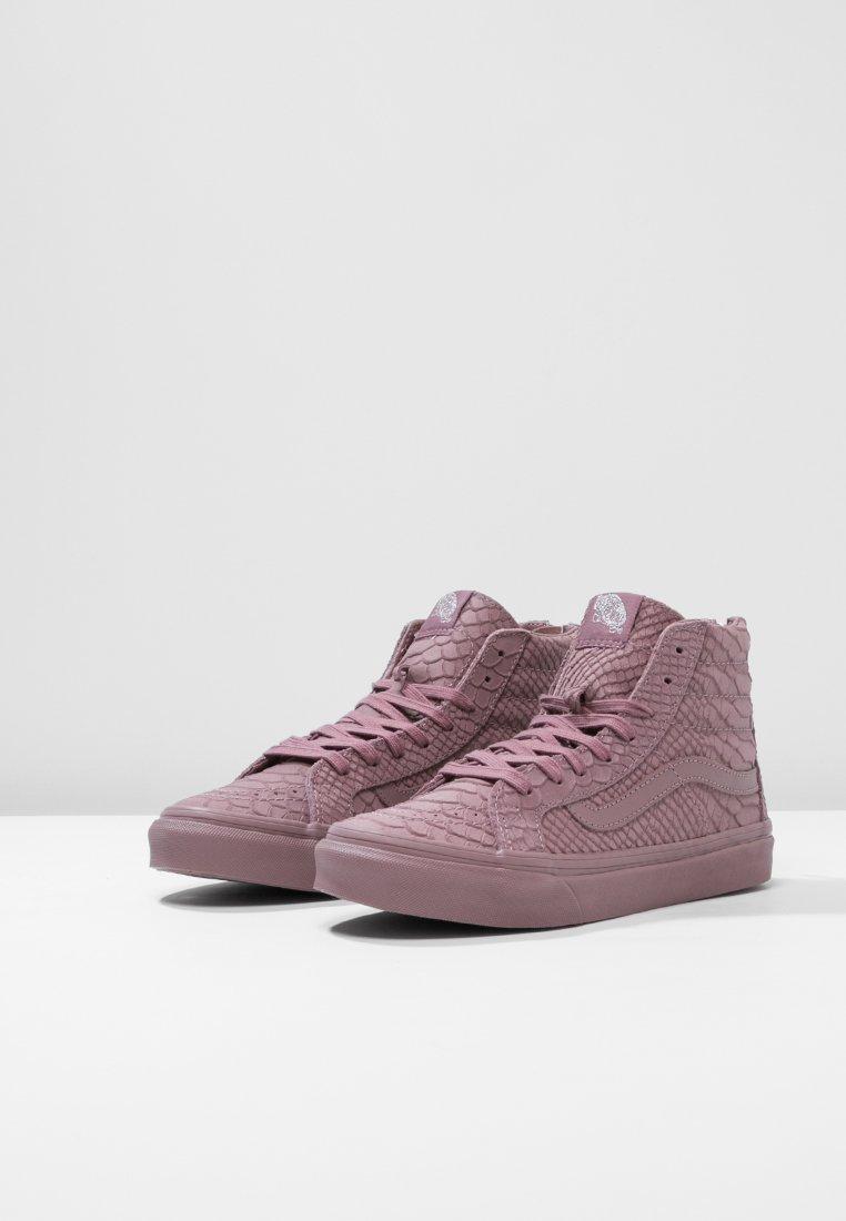 Vans SK8-HI SLIM ZIP DX - Baskets montantes - twilight mauve - Sneakers femme De gros