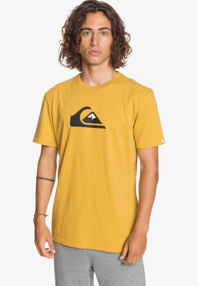 COMP LOGO - Print T-shirt - honey