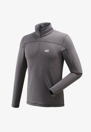 TECHNOSTRETCH - Sweat à capuche zippé - gris