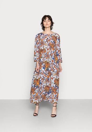 DRESS LONG WITH PRINT - Maxi dress - light blue