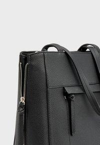 Stradivarius - Tote bag - black - 3