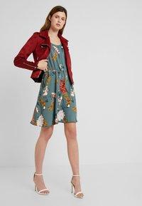 ONLY Tall - ONLELEONORA DRESS  - Day dress - balsam green - 1