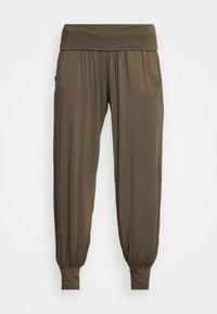 Deha - HAREM PANTS - Pantaloni sportivi - olive green - 3