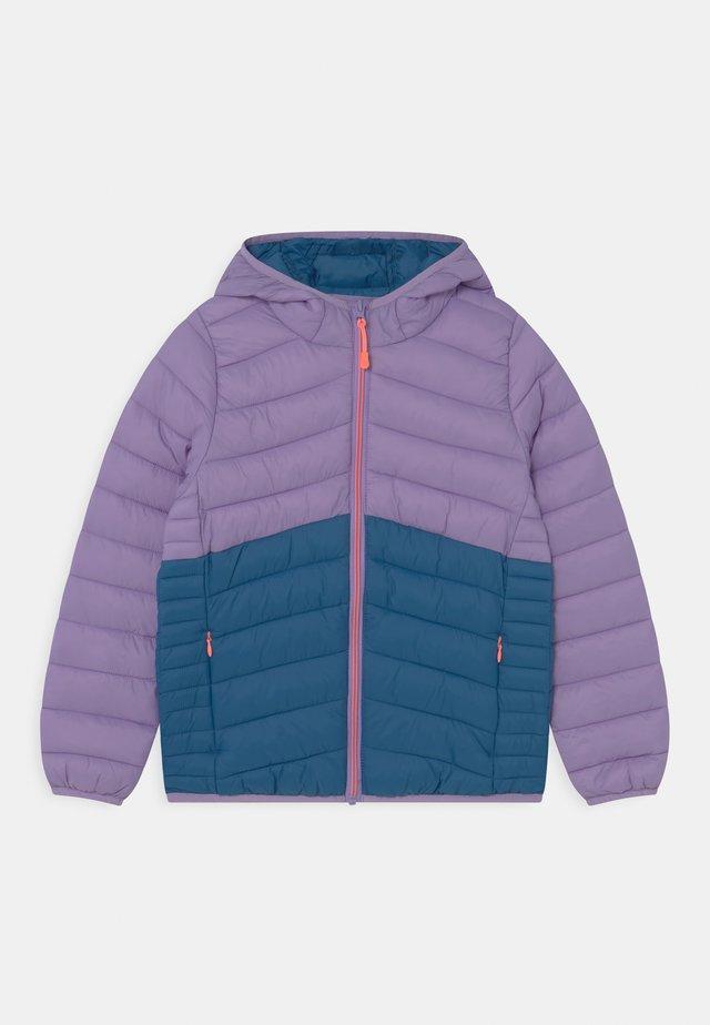 Zimní bunda - lilac