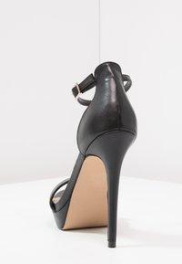 ALDO - MADALENE - Korolliset sandaalit - black - 3