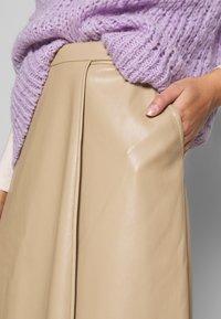 Gestuz - EVIE SKIRT - A-line skirt - safari - 4