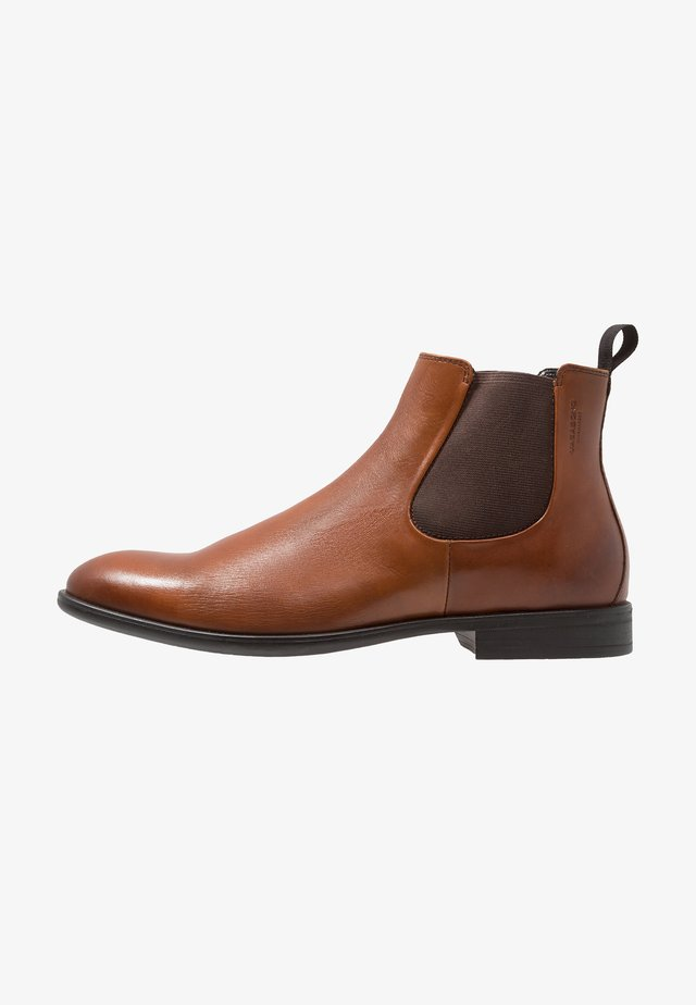 HARVEY - Bottines - cognac