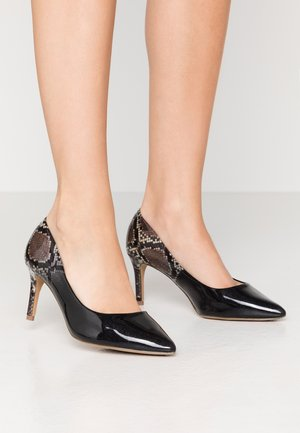 WIDE FIT EDEN - Classic heels - black