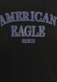American Eagle - BRANDED BRIGHTS SANTA MONICA TEE - Print T-shirt - true black - 2