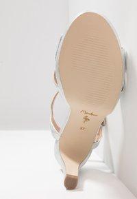 Menbur - High heeled sandals - silver - 6
