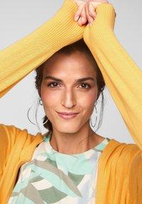 s.Oliver - VESTE - Cardigan - bright yellow - 3