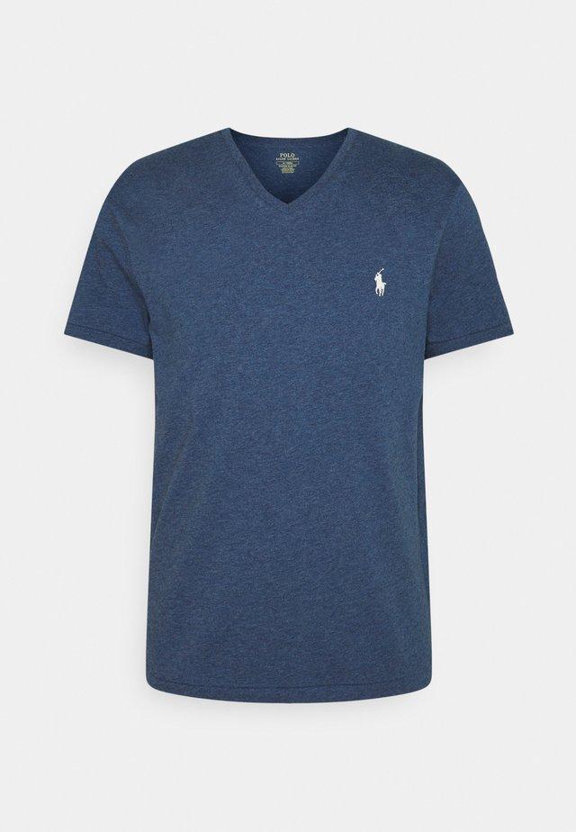 T-shirt basic - derby blue heather