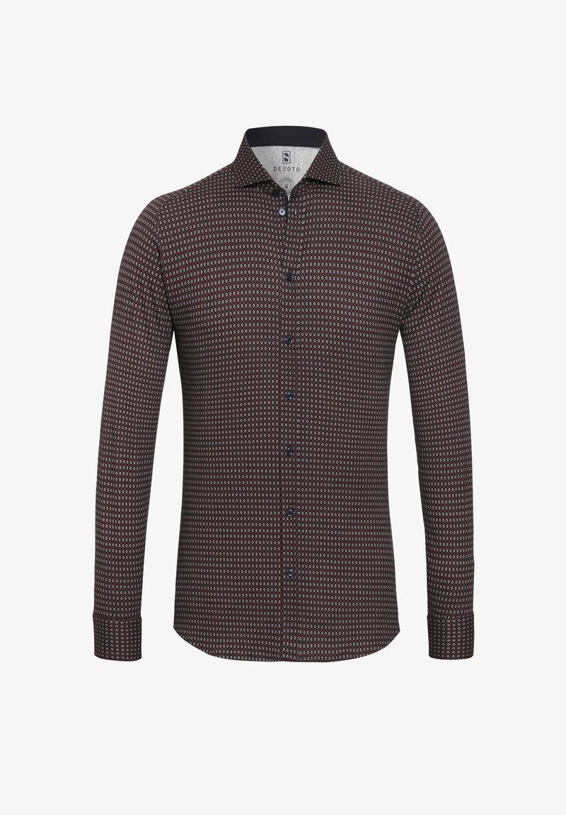 DESOTO - Shirt - dunkelrot