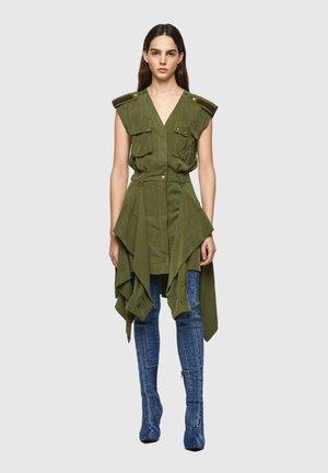 D-GIUDITTA - Day dress - olive green