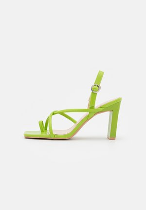 MONA - Sandals - green