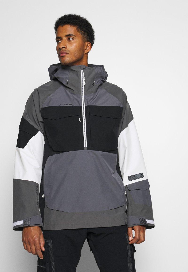 Burton - BANSHY CASTLEROCK  - Snowboard jacket - castlerock/multi