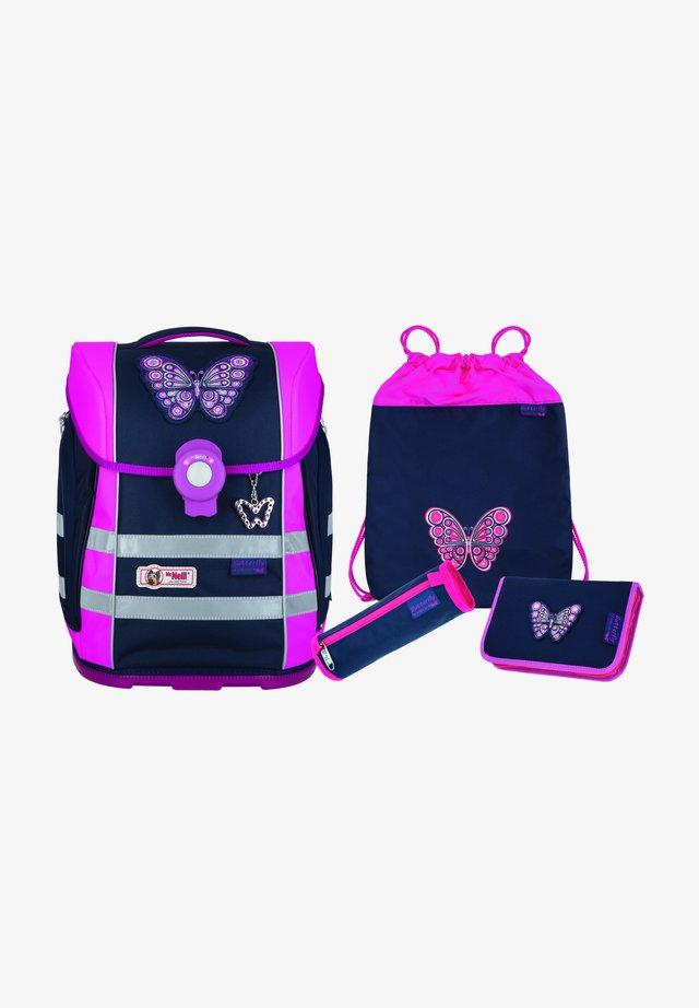 4 SET - Set zainetto - butterfly