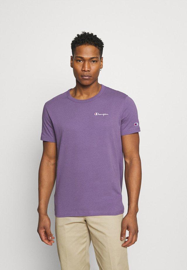 CREWNECK LABELS - T-shirt print - lilac