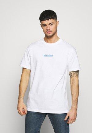AINT NO SUNSHINE - Print T-shirt - white