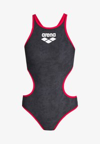 Arena - SAND ONE PIECE - Swimsuit - black/red - 3