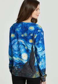 Mr. GUGU & Miss GO - THE STARRY NIGHT - Sweatshirt - blue - 2