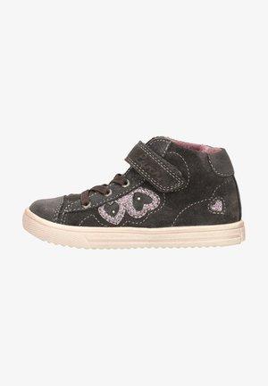 Sneakersy wysokie - charcoal
