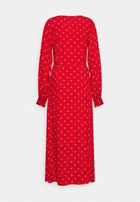 Gap Tall - WRAP DRESS - Korte jurk - red - 6
