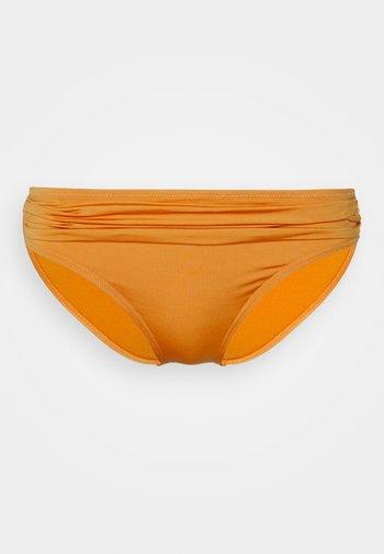 Bikini bottoms - shiny bronze