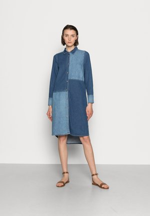 PAOLA DRESS - Denim dress - blue wash