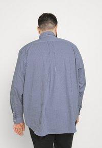 Polo Ralph Lauren Big & Tall - LONG SLEEVE SPORT SHIRT - Shirt - navy/white - 2