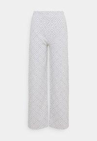GANT - ICON PANT - Bukse - light grey melange - 0