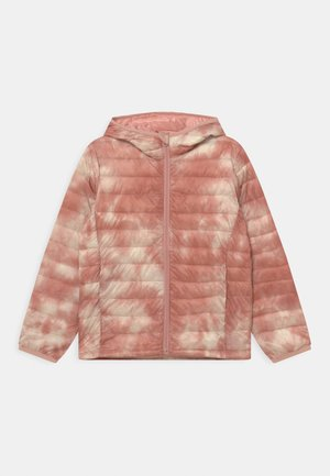 GIRL PUFFER - Zimní bunda - pink tie dye