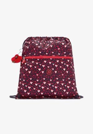 SUPERTABOO - Drawstring sports bag - heart festival